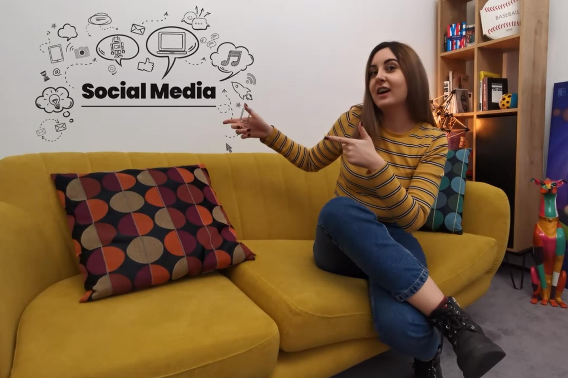 Social media. Vlog 1.
