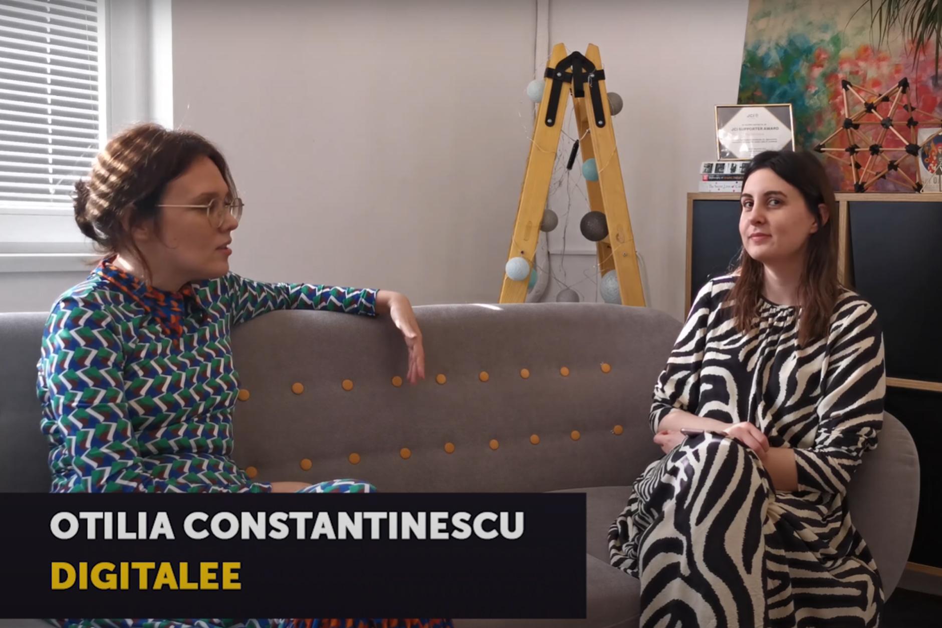 Despre Clubhouse cu Otilia Constantinescu